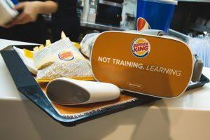 Кейс  как сотрудники Burger King тренировали английский в VR